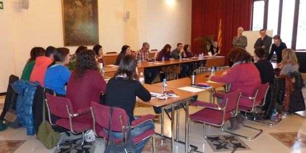 """24 professionals han assistit al curs sobre """"Com orientar en les transicions al llarg de la vida"""" al Consell Comarcal de l'Alt Penedès"""