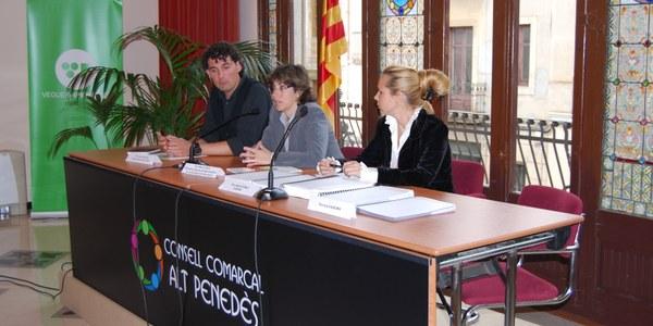 Presentada la primera fase del procés d'Agenda 21 supramunicipal a la seu del Consell Comarcal de l'Alt Penedès