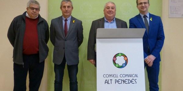 ÀREA DE PRESTACIÓ CONJUNTA DEL SERVEI DE TAXI DE L'ALT PENEDÈS