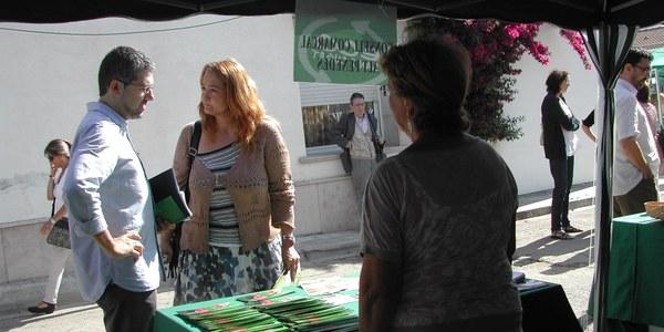 """El Consell Comarcal de l'Alt Penedès porta el projecte """"Productes de la Terra"""" a l'Ecofira de Sant Cugat Sesgarrigues"""