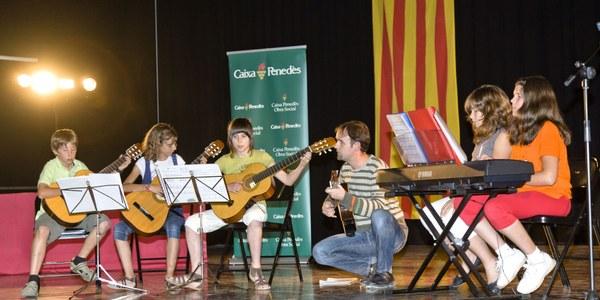 Concert de Nadal de l'Escola de Música de l'Alt Penedès