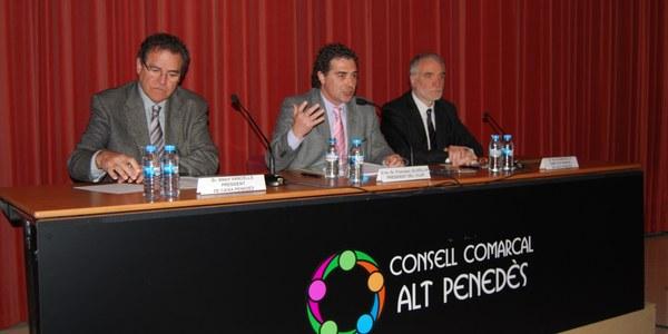 Declaració institucional de suport a Caixa Penedès per una millora en la seva vinculació social i territorial