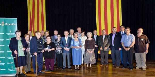 El Consell Comarcal de l'Alt Penedès celebra la seva trobada anual amb la Gent Gran