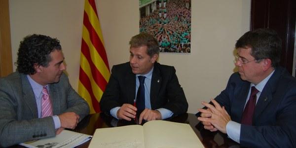 El Consell Comarcal de l'Alt Penedès, el Consorci de Promoció Turística de l'Alt Penedès i la Diputació de Barcelona volen enfortir el sector turístic i enoturístic del Penedès
