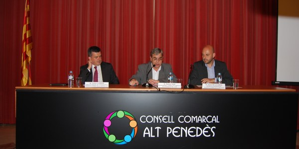 El Consell Comarcal de l'Alt Penedès i l'Ajuntament d'Ajdir consoliden el seu projecte de cooperació
