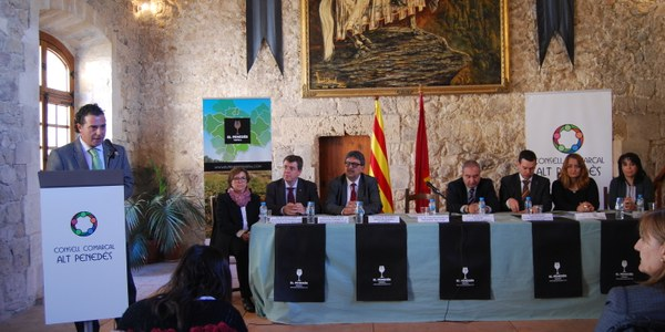 """El Consell Comarcal de l'Alt Penedès impulsa """"El Penedès, tasta'l"""" per dinamitzar el sector agroalimentari i de la restauració"""