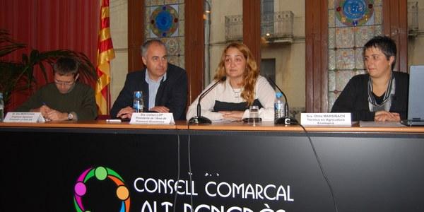 El Consell Comarcal de l'Alt Penedès organitza tallers per als viticultors i els artesans agroalimentaris