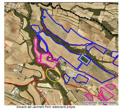 Emplaçament del Jaciment de la Font de la Canya.png