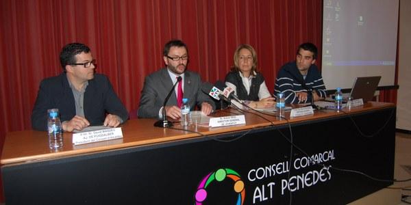 EL CONSELL COMARCAL DE L'ALT PENEDÈS SIGNA EL CONVENI DE COL•LABORACIÓ AMB LA GENERALITAT EN MATÈRIA DE JOVENTUT