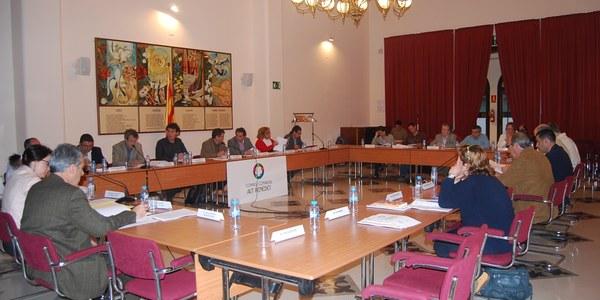 El Consell Comarcal de l'Alt Penedès celebra l'últim Ple de la legislatura