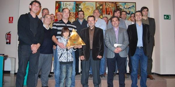 El Consell Comarcal de l'Alt Penedès homenatja els Castellers de Vilafranca
