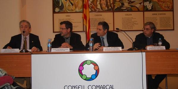 El Consell Comarcal de l'Alt Penedès i l'Ajuntament de Vilafranca col·laboren per millorar l'ocupació dels aturats majors de 50 anys