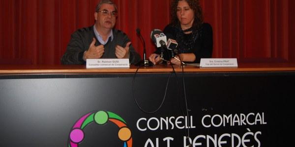 EL CONSELL COMARCAL EDITA EL CALENDARI PER LA PAU 2013  DE L'ALT PENEDÈS