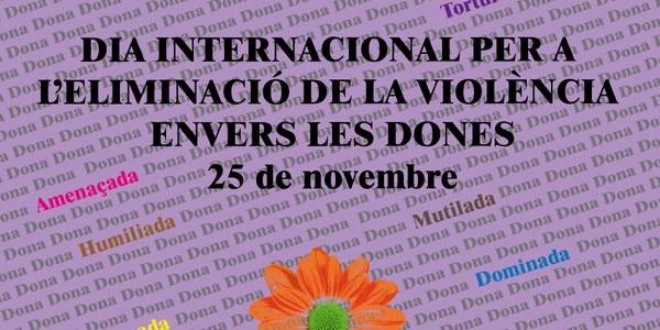 El Pla per la Igualtat de l'Alt Penedès commemora el Dia internacional contra la violència envers les dones