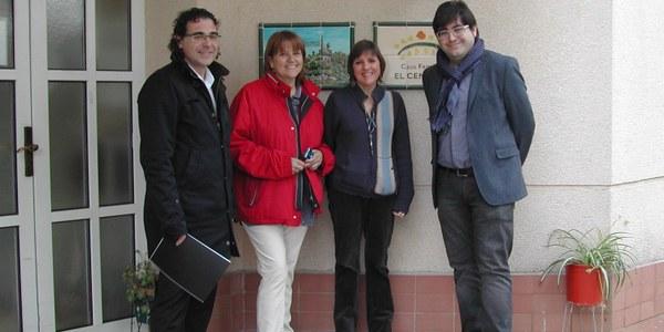 EL PRESIDENT DEL CONSELL COMARCAL I L'ALCALDE DE SUBIRATS VISITEN LA RESIDÈNCIA DE GENT GRAN EL CENACLE