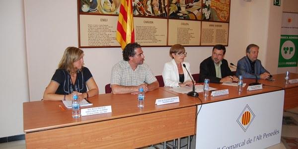 Els Plans Extraordinaris d'Ocupació Local impulsats pel Departament de Treball permeten la contractació de gairebé 160 persones en atur a la comarca de l'Alt Penedès