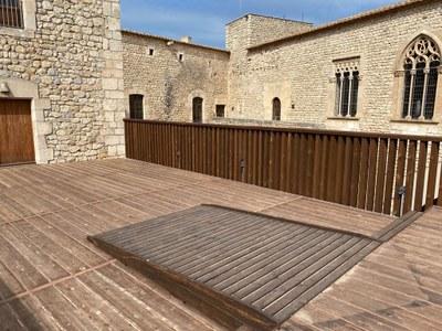 Fase II de la restauració del Castell de Sant Martí Sarroca