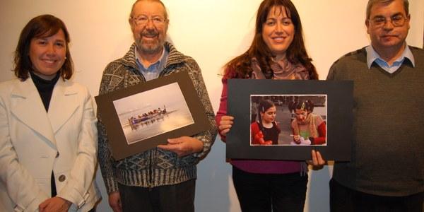 """Josep Catasús i Najat Chib, guanyadors del concurs de fotografia del Consell Comarcal de l'Alt Penedès """"Per la igualtat: activa't"""""""