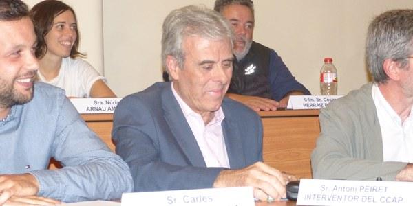 L'INTERVENTOR DEL CONSELL COMARCAL DE L'ALT PENEDÈS ANUNCIA LA SEVA JUBILACIÓ