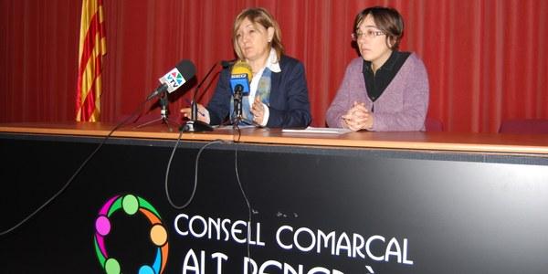 LA CONSELLERA COMARCAL D'ACCIÓ SOCIAL ES REUNEIX AMB RESPONSABLES DEL DEPARTAMENT DE BENESTAR SOCIAL I FAMÍLIA