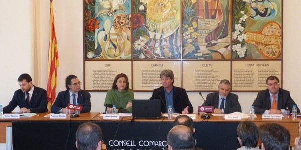 LA DIPUTACIÓ DE BARCELONA PRESENTA AL CONSELL COMARCAL DE L'ALT PENEDÈS EL NOU MARC DE COOPERACIÓ LOCAL