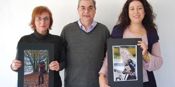 """NÚRIA GUINOVART I NEJET CHIB, GUANYADORES DEL CONCURS DE FOTOGRAFIA DEL CONSELL COMARCAL DE L'ALT PENEDÈS """"PER LA IGUALTAT: ACTIVA'T"""""""