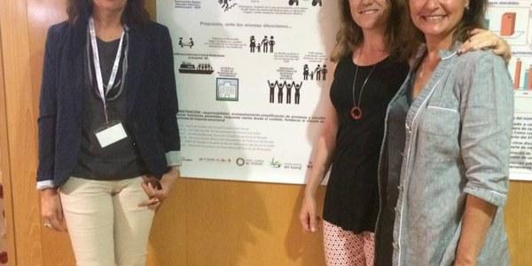 PREMI AL PÒSTER PRESENTAT DES DE L'ALT PENEDÈS-GARRAF A LES JORNADES ESTATALS D'INTERVENCIÓ SOCIAL