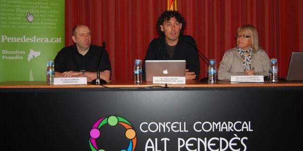 PRESENTADES LES 5ES JORNADES DE LA PENEDESFERA AL CONSELL COMARCAL DE L'ALT PENEDÈS