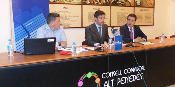PRESENTAT AL CONSELL COMARCAL L'ÍNDEX ADEPG DE COMPETITIVITAT COMARCAL · 2015