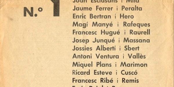 Xerrada sobre Les primeres eleccions municipals democràtiques a Catalunya: gener de 1934