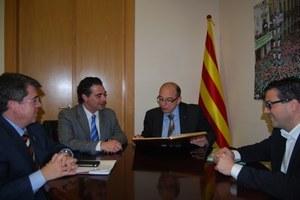 Visita del Director General d'Administració Local