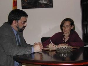 Visita de la Consellera d'Interior de la Generalitat de Catalunya