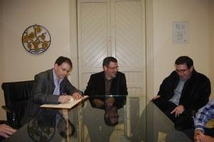"""Visita de Carles Zafon, Guanyador del Premi """"El Lector de l'Odissea"""""""