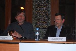 Visita de Jordi Cussà