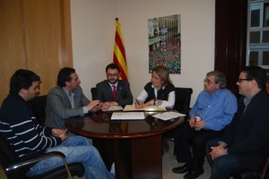 Visita de la Diputada adjunta d'Igualtat i Ciutadania
