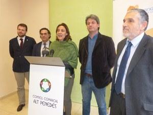 Visita de la Presidenta de la Diputació de Barcelona
