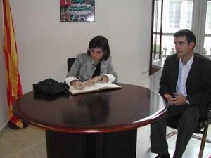 Visita de la Secretària General de Joventut