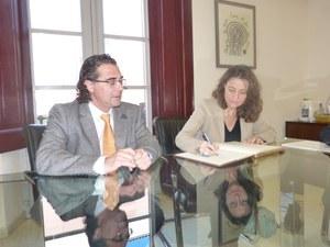 Visita de la Vicepresidenta de la Diputació de Barcelona
