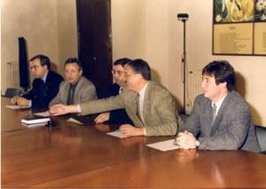 Visita de l'Alcalde de La Vila de Sallent i Portaveu del Grup de CIU a la Diputació de Barcelona