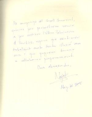 Visita de l'escriptora Najat El Hachmi