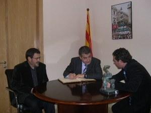 Visita del Conseller d'Agricultura de la Generalitat de Catalunya