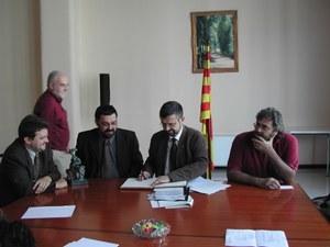 Visita del Conseller de Medi ambient i Habitatge de la Generalitat de Catalunya