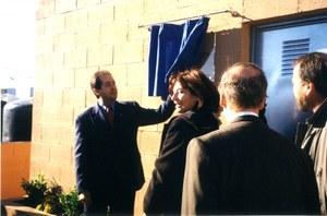 Visita del Conseller de Mediambient de la Generalitat de Catalunya