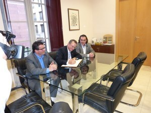Visita del Delegat del Govern de la Generalitat a Barcelona