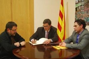 Visita del Delegat del Govern de la Generalitat de Catalunya