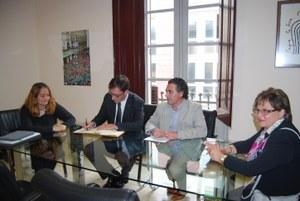 Visita del Director General d'Economia Social Cooperativa