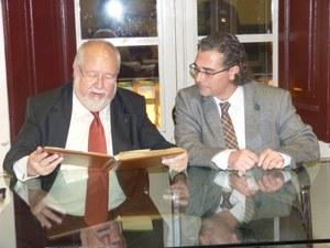 Visita del President de la Diputació de Barcelona
