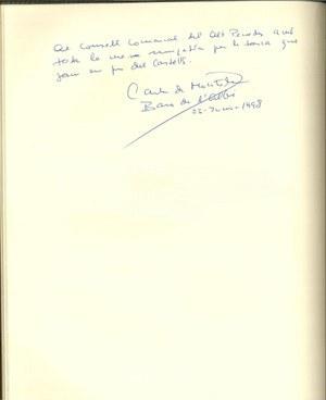 """Visita del President de la Fundació """"Castells Culturals de Catalunya"""""""