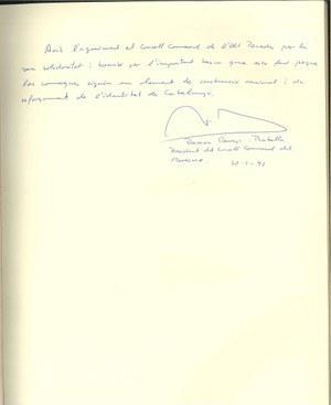 Visita del President del Consell Comarcal del Maresme