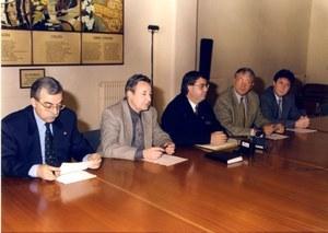 Visita del President del Grup de CIU a la Diputació de Barcelona